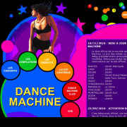 Dance Machine unofficial website - All about the concerts, TV shows and compilations (2007)